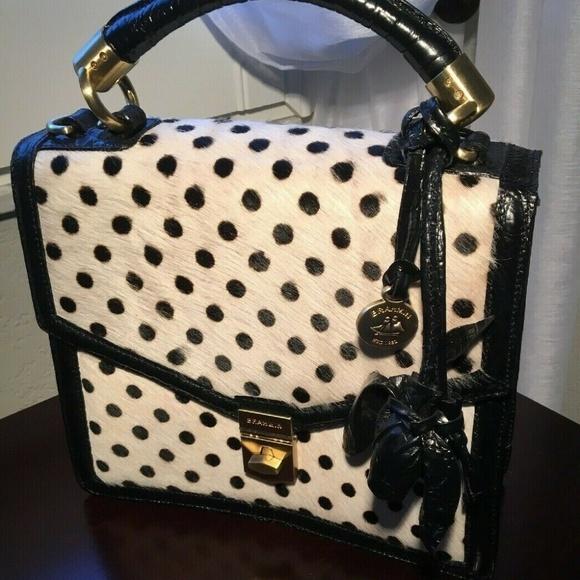 4f71f109be68 Brahmin Bags   Gorgeous Olivia Rose Luna Dot Convertible   Poshmark